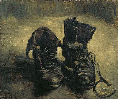 "Van Gogh, ""Pair of Boots,"" 1887"