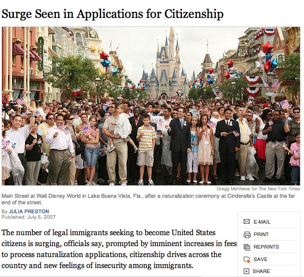 Disneyland Citizens