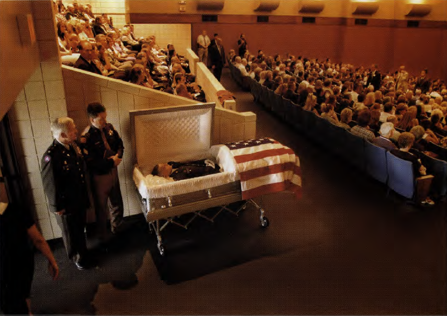 Famous Dead People in Caskets