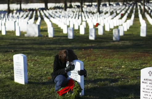 Arlington grief December 2009