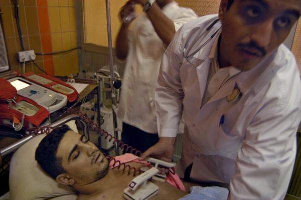 Ammar Shakar in death, Baghdad