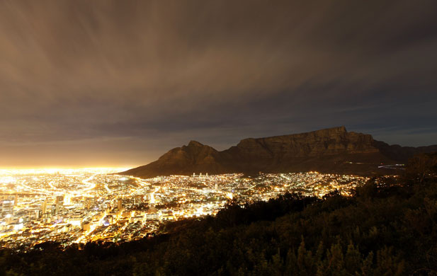 gold light Cape Town