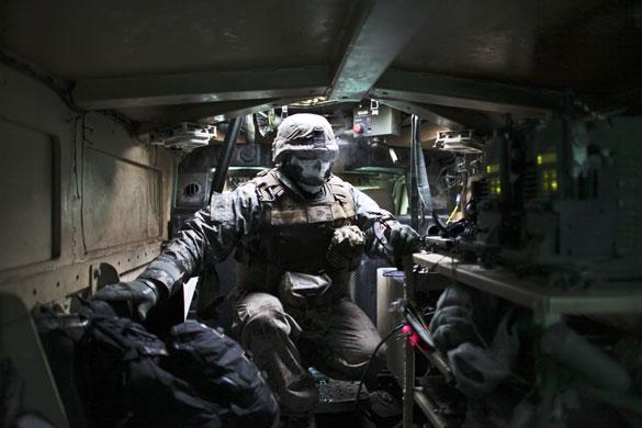 Marine gunner Afghanistan-