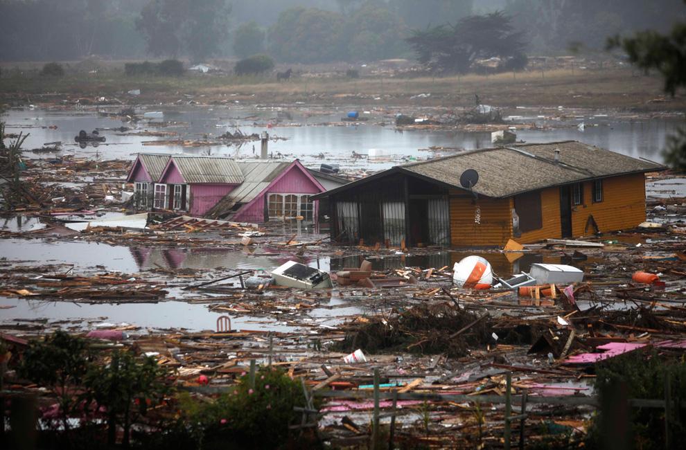 chilean tsunami damage