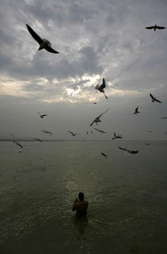 Ganges, Allahabad India