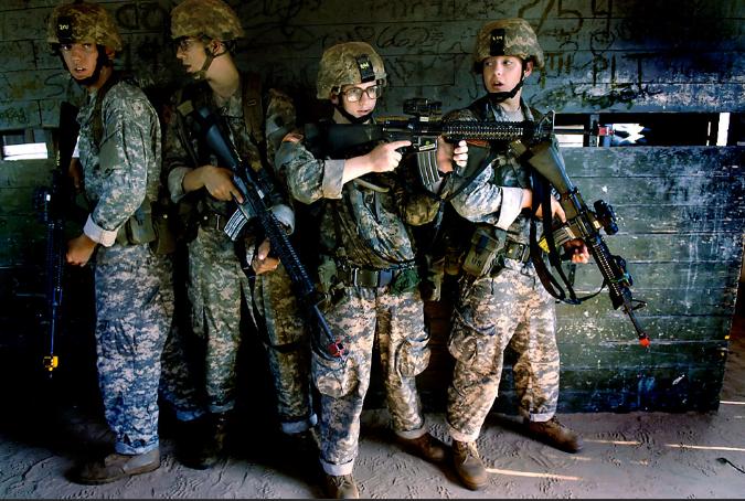 American Soldier Boy