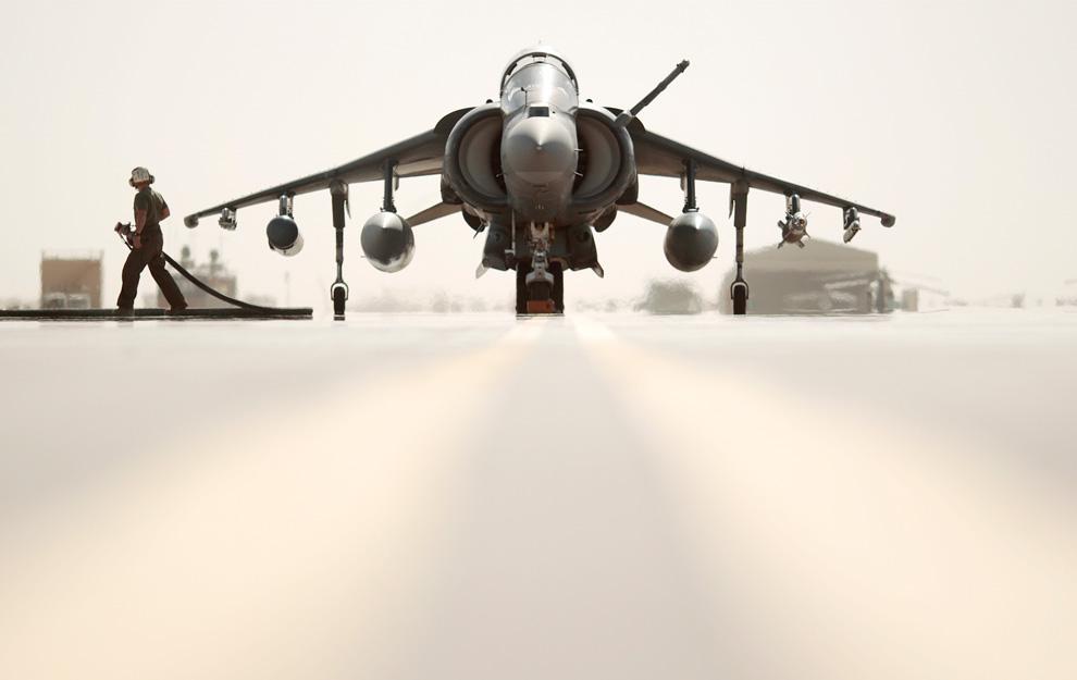 Harrier jet Afghanistan