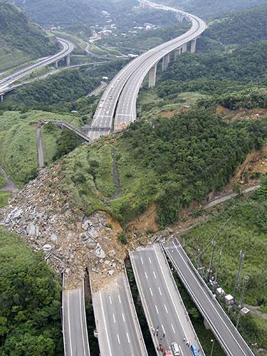 landslide Taiwan