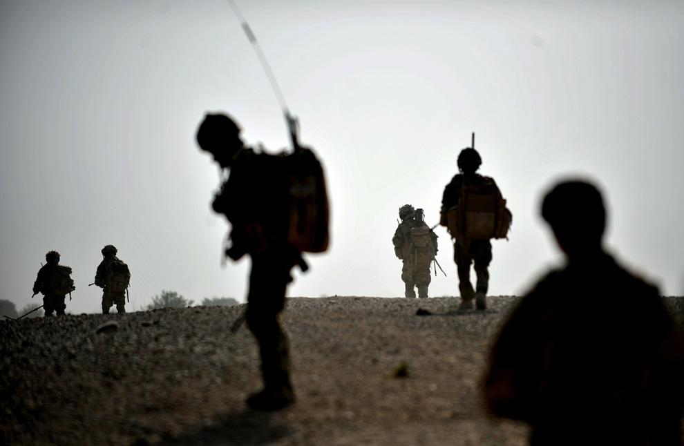 Afghan patrol, Gurkhas