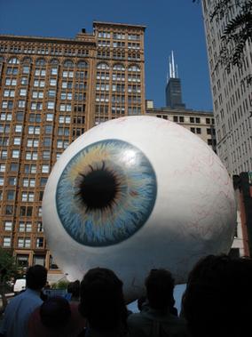 Tony Tasset, Eye, Chicago
