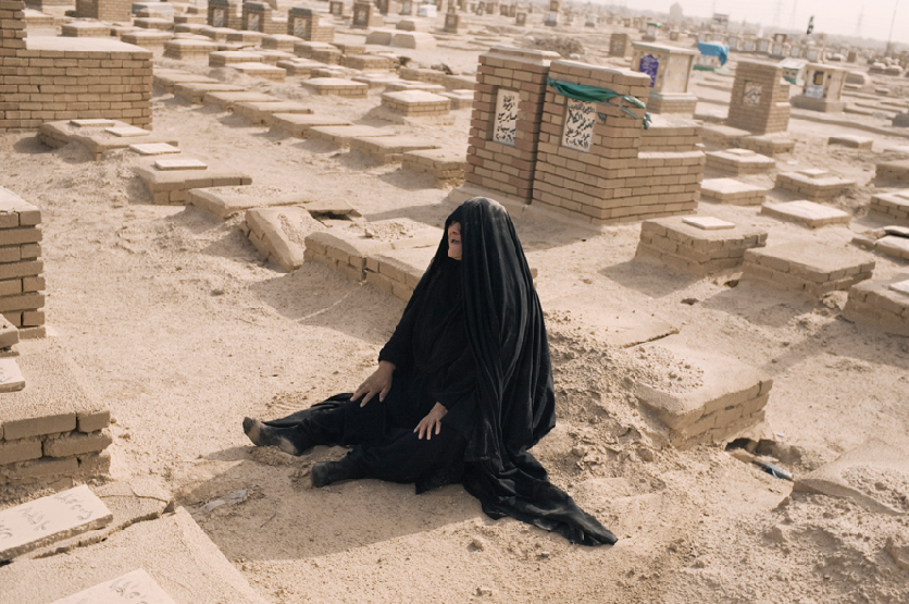 Iraqi mother grieving