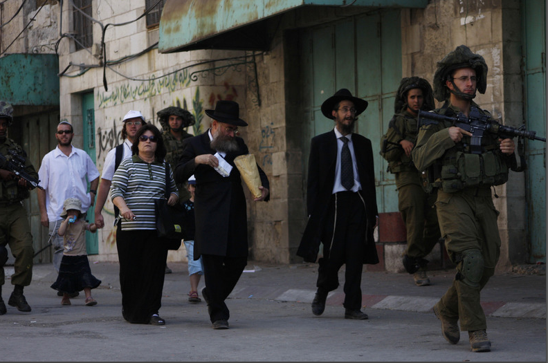 settlers in hebron