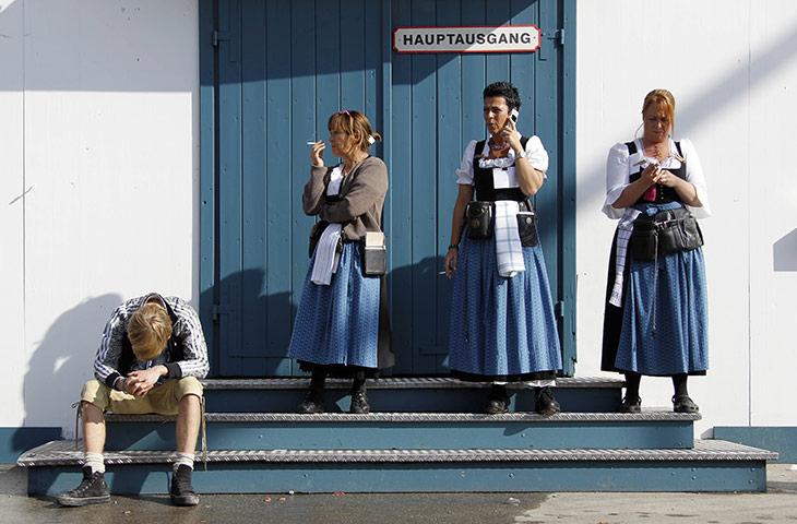 Oktoberfest workers