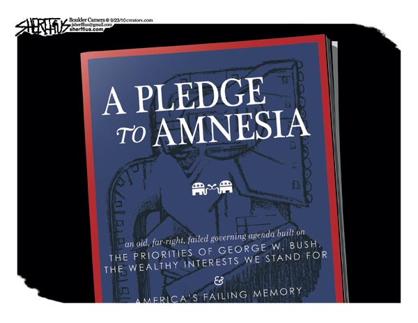 Sherffius, Pledge to Amnesia