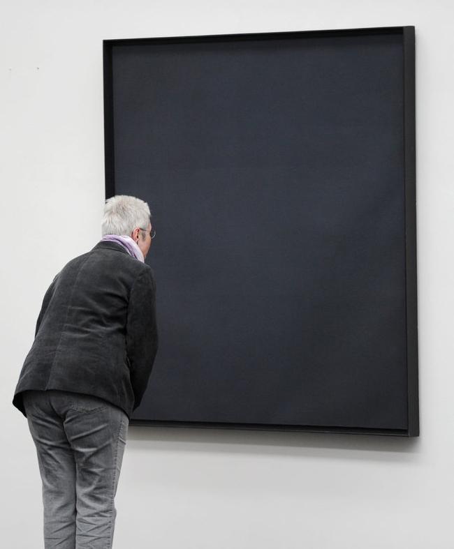 museum black on black
