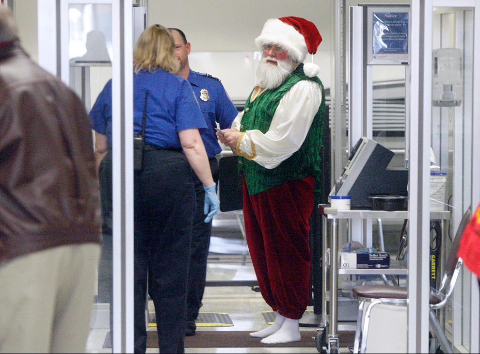 Santa and the TSA.2010-12-14 at 9.29.53 PM