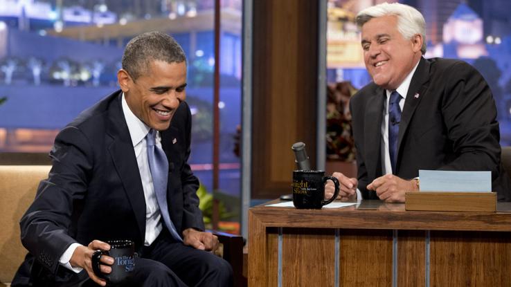 Obama-Leno, Jacquelyn Martin:AP
