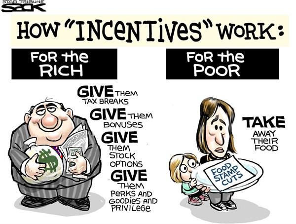 Trickle Up Economics