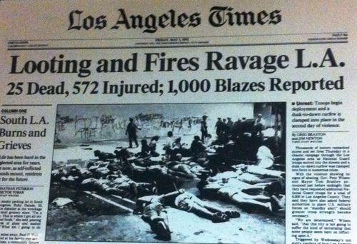 LA Times riots