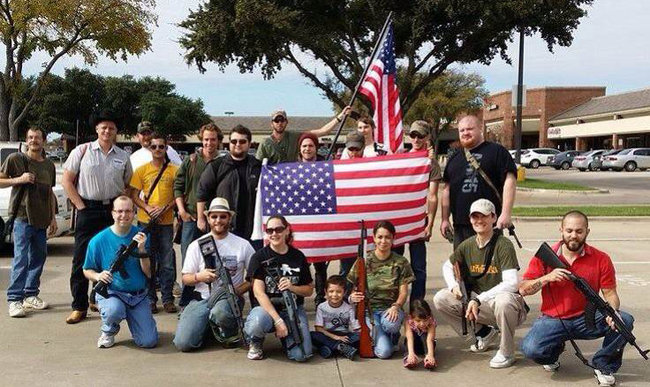 Open Carry Advocates front