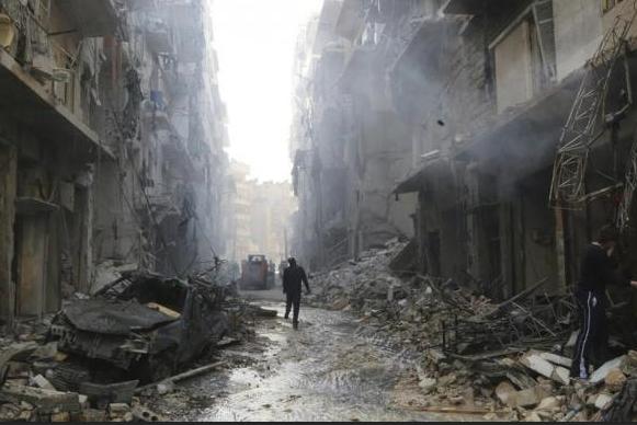 Aleppo ruins 2014