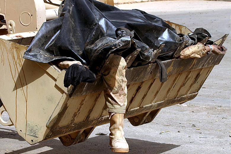 Iraq war dead payloader