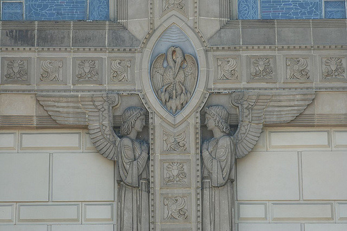 Chicago church angels