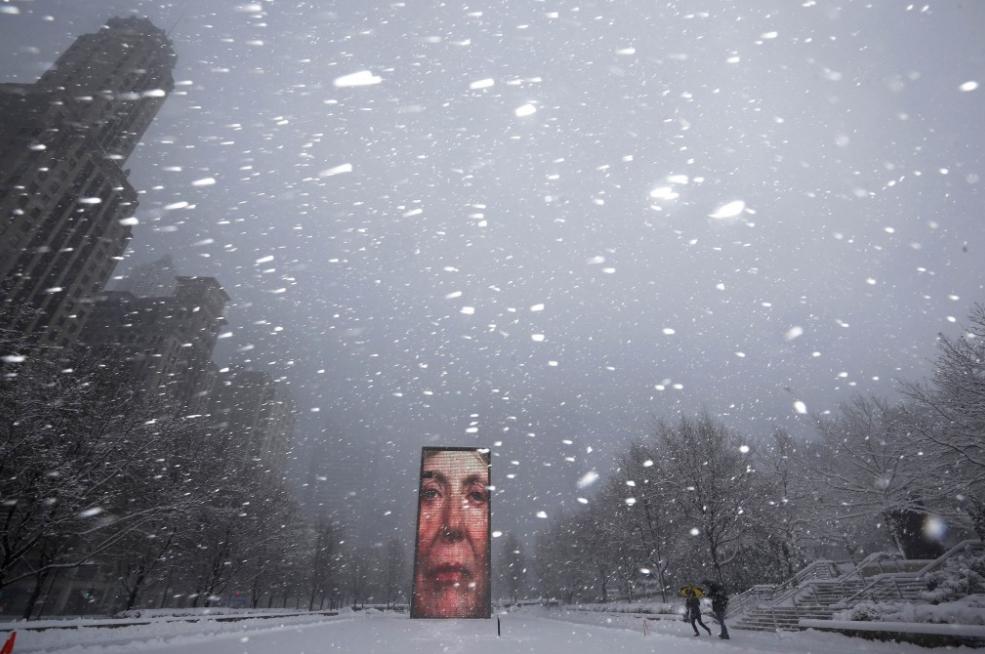 Face Millennium Park