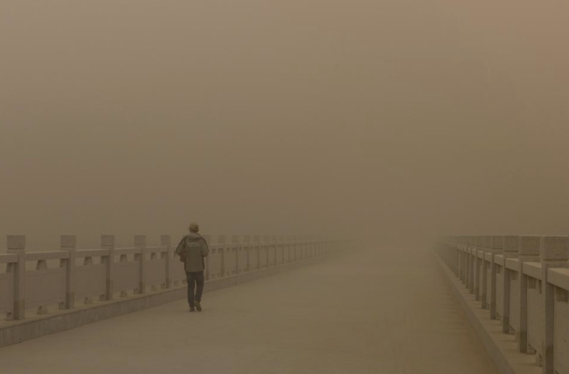 China dust storm