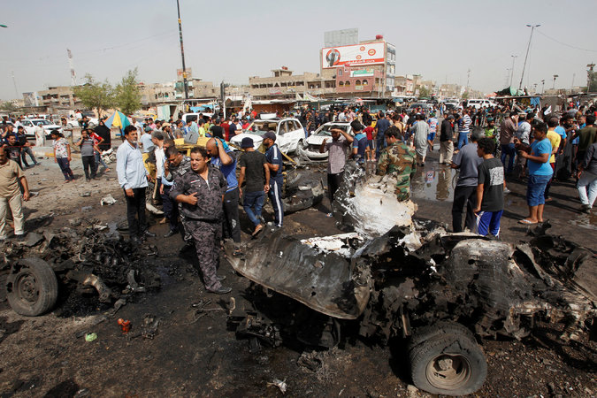 Iraq bombing aftermath